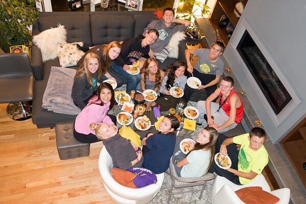 2014 11 06 Seligman Pasta Feed