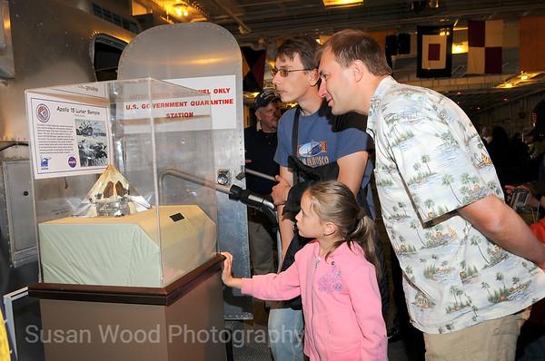 Around the USS Hornet Museum