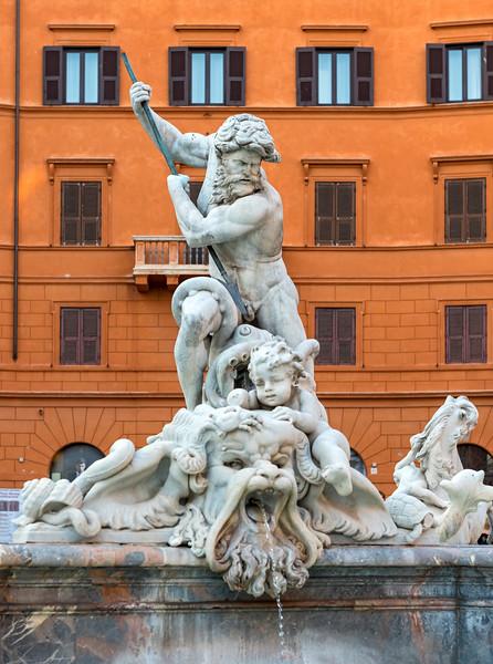 Fountain of Neptune, Rome