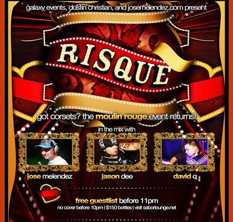 Risque @ Sabor Tapas Bar & Lounge 10.9.09