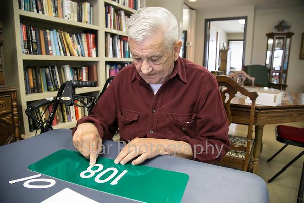 SALT Distributes House Number Signs 03-04-15