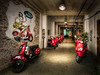 Red Rental Scooters
