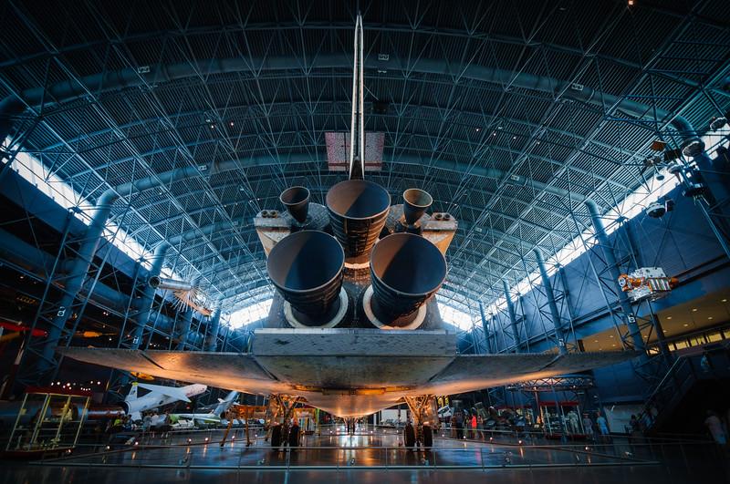 Discovery Shuttle at Udvar-Hazy Center