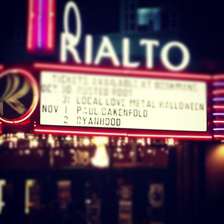 Rialto Theatre, Tucson, AZ 2013