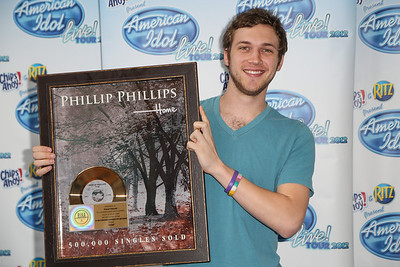 American Idol Presents first gold record to Phillip Phillips