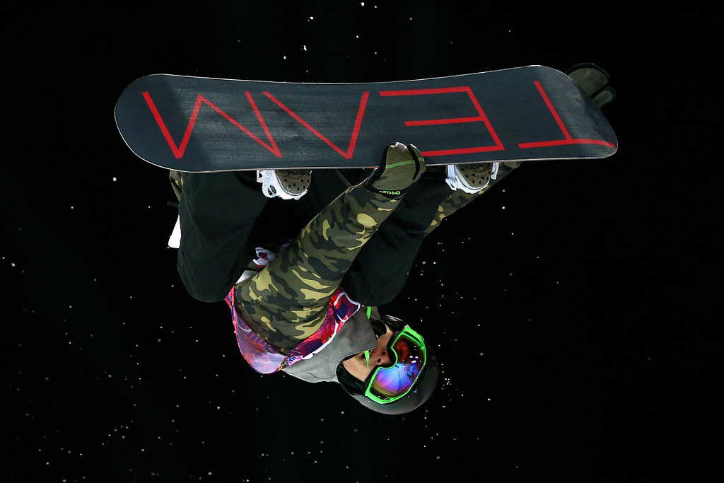 . Tim-Kevin Ravnjak of Slovakia competes in the Snowboard Men\'s Halfpipe Semifinal on day four of the Sochi 2014 Winter Olympics at Rosa Khutor Extreme Park on February 11, 2014 in Sochi, Russia.  (Photo by Cameron Spencer/Getty Images)