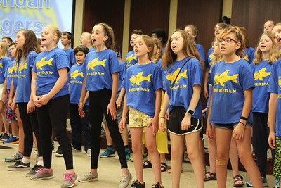 Sheridan Singers Visit District Office