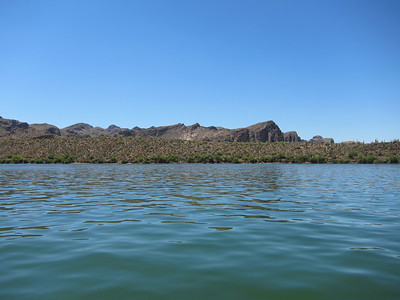 Sedona Lake Patio Boat