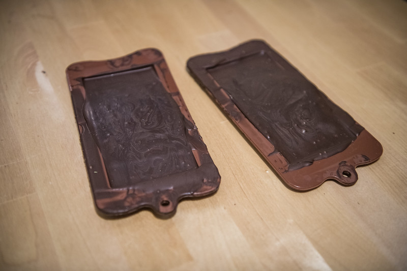 Molded Chocolate Bar!