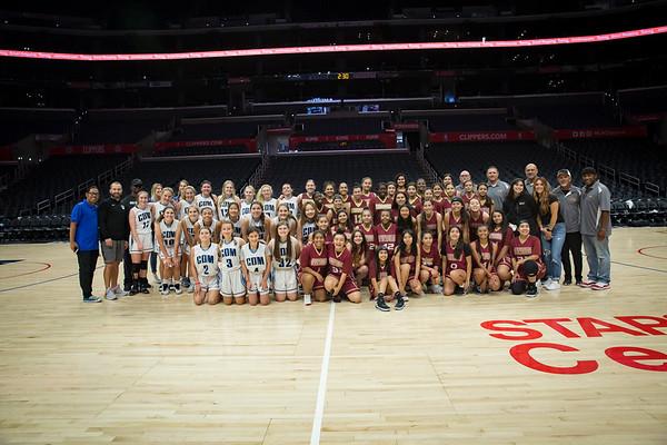 CDM Girls Basketball - Staples center 2019