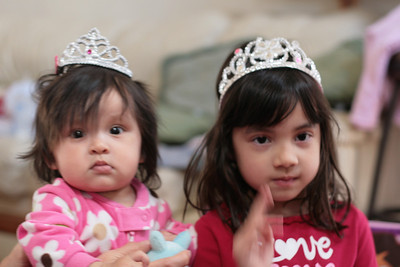 Princess Allie and Princess Carmie