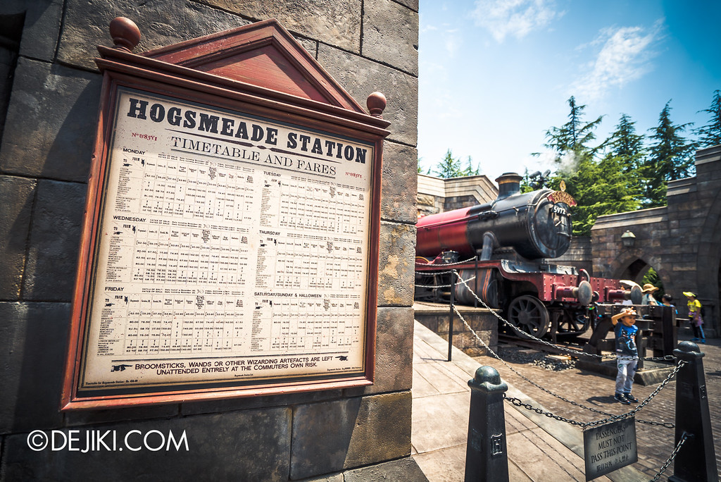 Universal Studios Japan - The Wizarding World of Harry Potter - Hogwarts Express Hogsmeade Station
