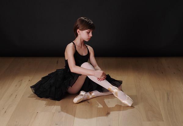Studio ballet shots with Avi's friends