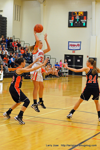 Jonesville vs Homer (V) Girls Basketball