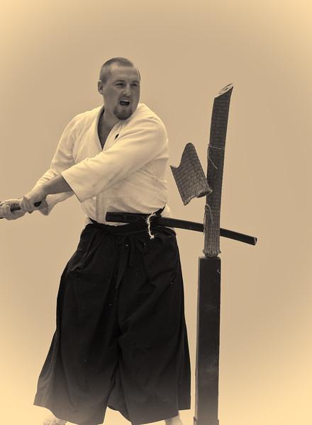Swordsmanship, Tojokan Dojo, Campbell, California, 2010