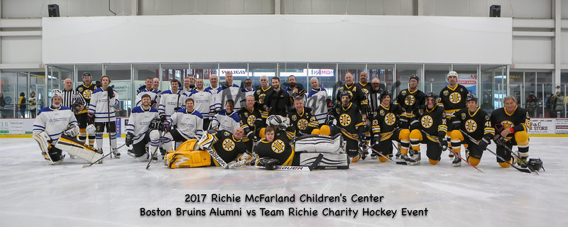 2017-12-16 Bruins Alumni vs Team Richie McFarland Children's Center Benefit