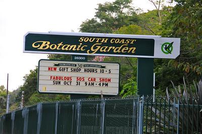 PV Botanical Garden Race cars Show Oct. 2010