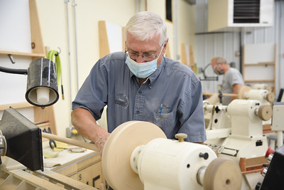 Making a Walking Stick for Disabled American Veterans