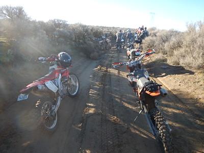 George Area Desert Trail Ride Dec 13, 2014