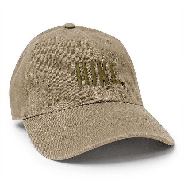 Outdoor Apparel - Organ Mountain Outfitters - Hat - HIKE Cap - Khaki Olive.jpg