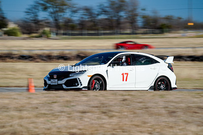 17 White Honda Civic Type R
