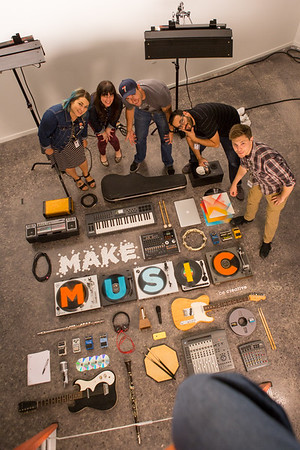 Make Music shoot