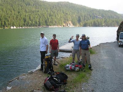 Challenger Attempt - Picketts Range, North Cascades - July 2008
