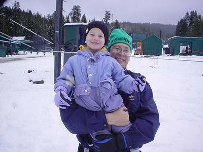 Brian at the snow 2005