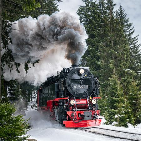 Harz und Brocken im Winter