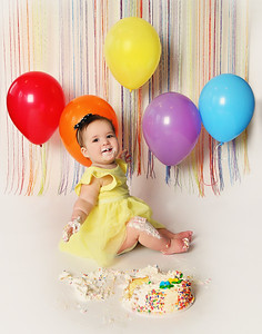 Nina's 1st Birthday Session