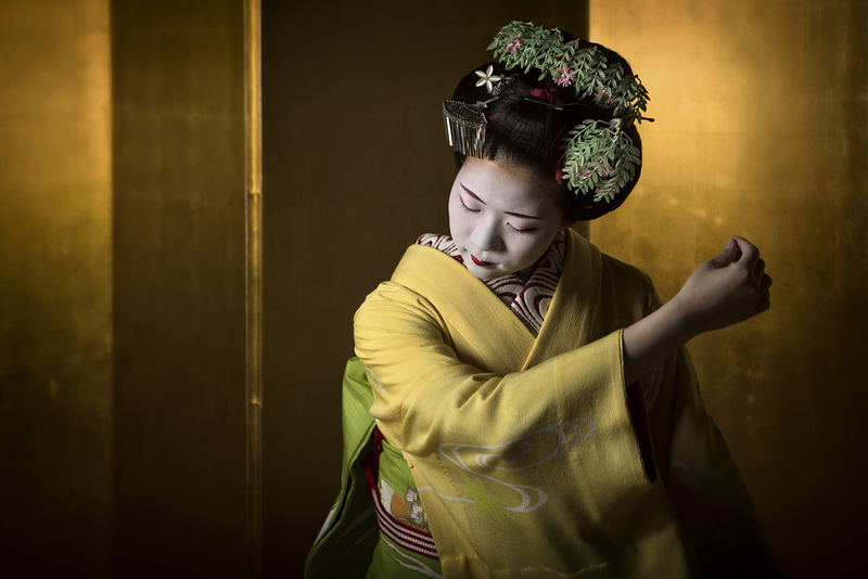 Geisha. Editorial credit: 2630ben / Shutterstock.com