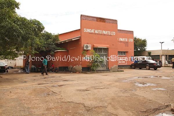 ZAMBIA, Lusaka. Ann Guttman house, Buffalo Hall (former) (2.2013)