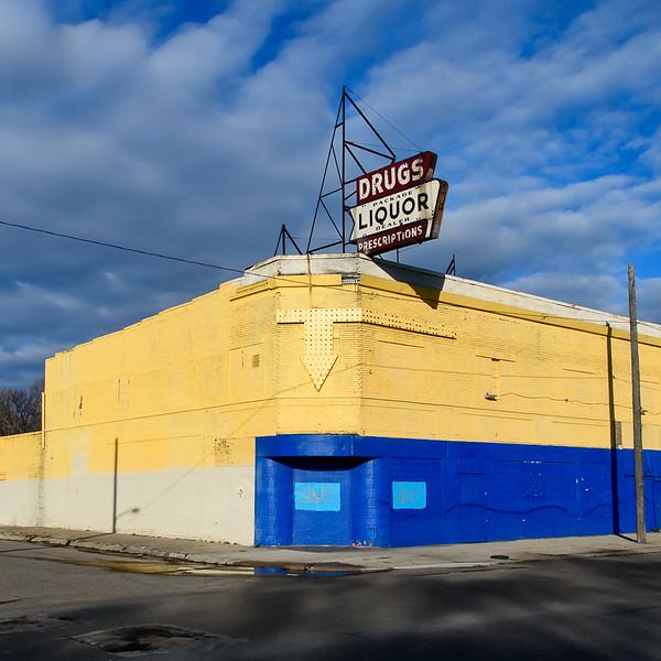 Drug Store, Brightmoor, Detroit