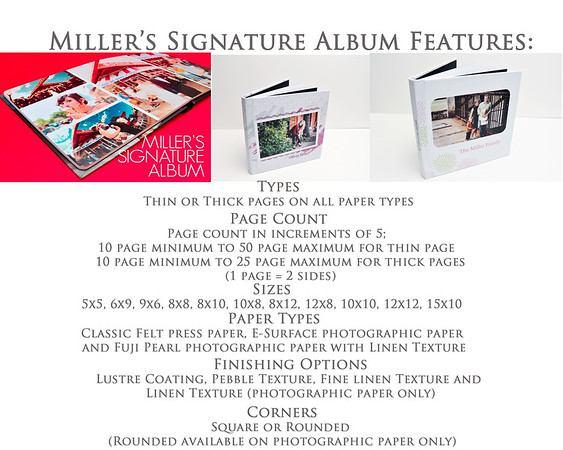 Albums - Signature Senior