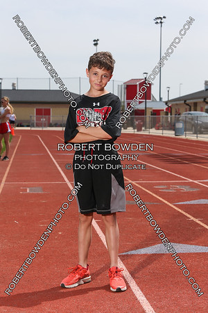 Milan Middle School Track Team Photos 2018