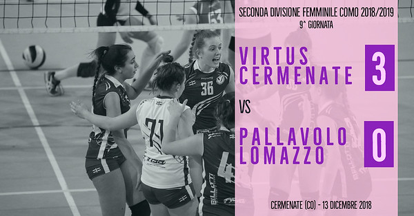 CO-2Df: 9^ Virtus Cermenate - Pallavolo Lomazzo
