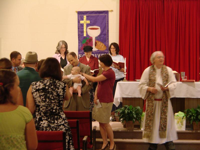 Park Street Christian Church Infant Dedication 2009 July 007.jpg