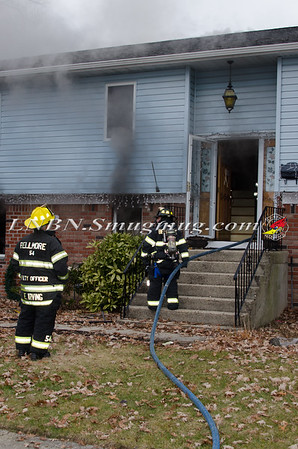 Bellmore F.D. House Fire 2589 Hicks St. 12-16-14
