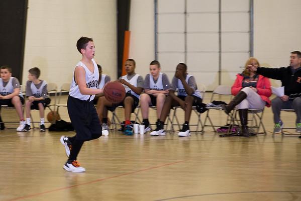 MS Basketball v Holy Cross School
