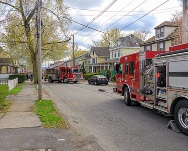 Residential Structure Fire - West Street - City of Newburgh FD - 4/25/2020