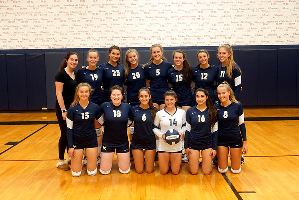 Athletics - Volleyball vs Sacred Heart Sept. 2016