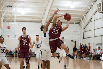 1/13/18: Boys' Varsity Basketball v Hotchkiss