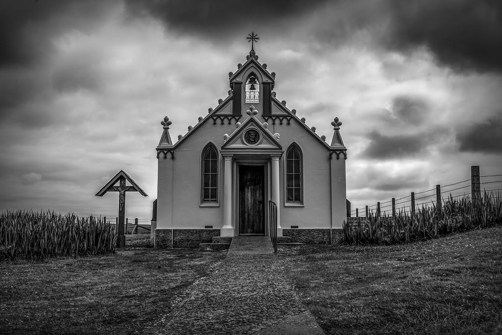 奥克尼意大利教堂(Italian Chapel),小教堂大名气