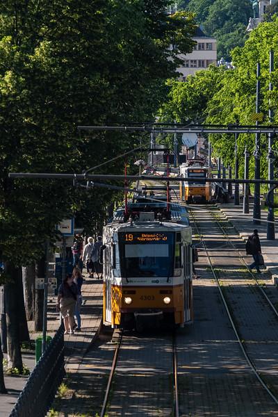 streetcars foot of Buda Castle.jpg