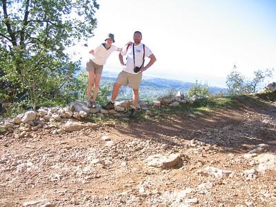 Up the baou of La Gaude 6/5/2005
