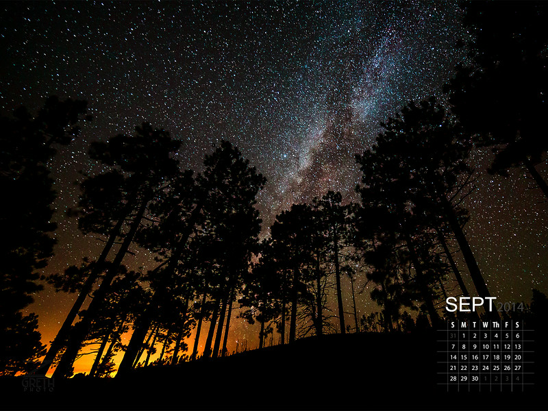 September - Mogollon Rim
