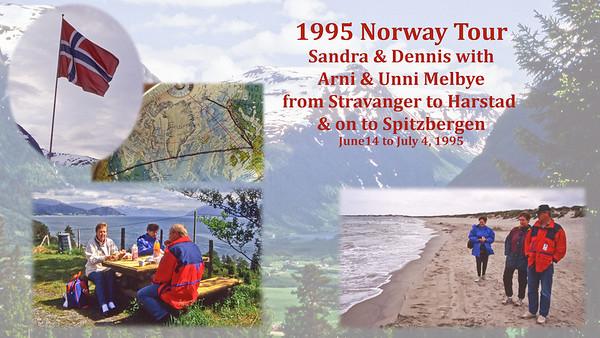 1995 Norway from Stravanger to Harstad to Spitsburgen