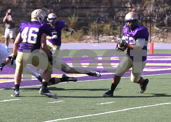 2012 LORAS COLLEGE FOOTBALL vs LUTHER COLLEGE