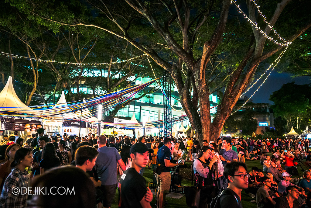 Singapore Night Festival 2017 - Festival Village on 24 August 2
