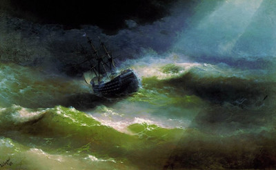 Ocean, ship paintings